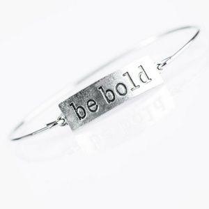 Bracelet - Be BOLD Silver